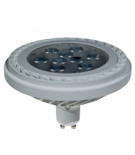 ES111 1000LM 15W 230VAC 3000K 36* WHITE DIMMABLE