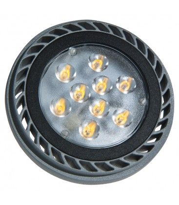 ES111 1000LM 15W 3000K 36* SILVER DIMMABLE