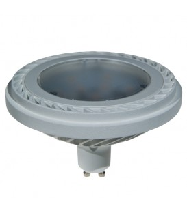 ES111 800LM 15W 230VAC 3000K 100* WHITE DIMMABLE