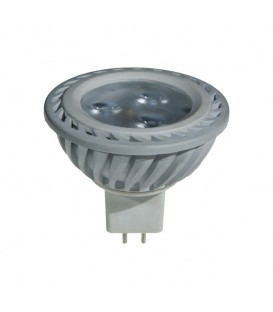 MR16 250LM 4W 3000K 34* WHITE NON-DIMMABLE