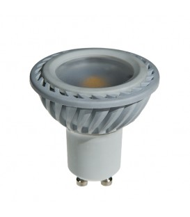 GU10 200LM 5W 3000K 100* WHITE DIMMABLE