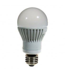 E27 350LM 6W 3000K 120* WHITE DIMMABLE